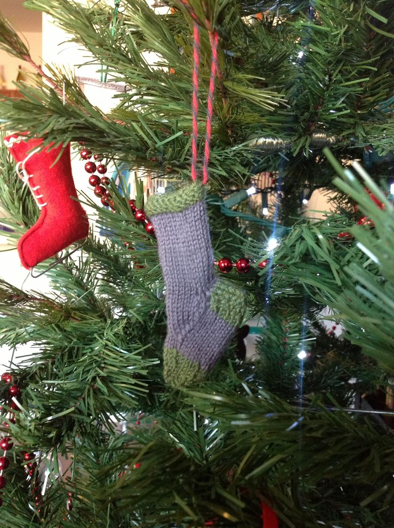 Knitted sock1